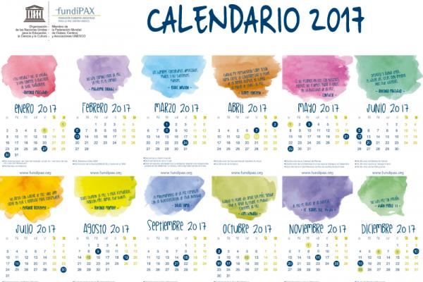 Calendario FUNDIPAX